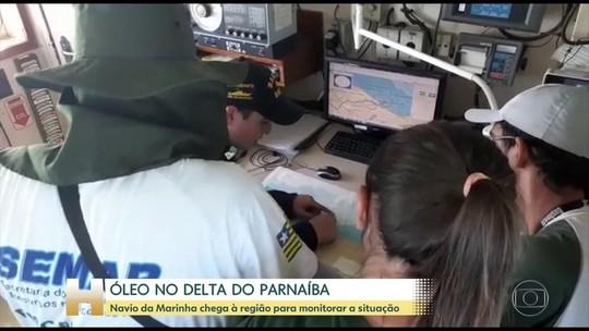 Marinha confirma que área do Delta do Rio Parnaíba foi atingida pelo óleo