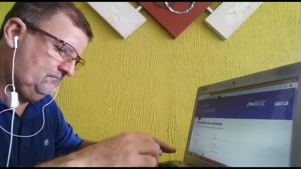 Auxílio emergencial de Sandro foi negado por ele, supostamente, ocupar o cargo de deputado — Foto: Reprodução/TV Globo