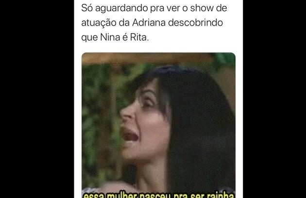 Memes com 'Avenida Brasil' (Foto: reprodução/Twitter)