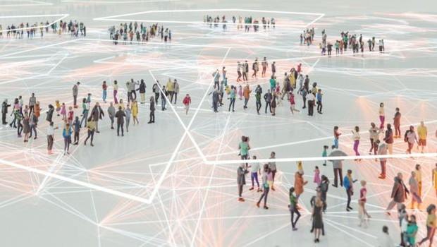 A tecnologia 5G suporta milhares de pessoas conectadas ao mesmo tempo à internet em aglomerados, como shows (Foto: Getty Images via BBC News Brasil)