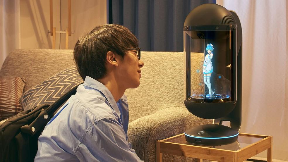 Gatebox é a assistente e namorada virtual da empresa japonesa Line (Foto: Divulgação/Line)