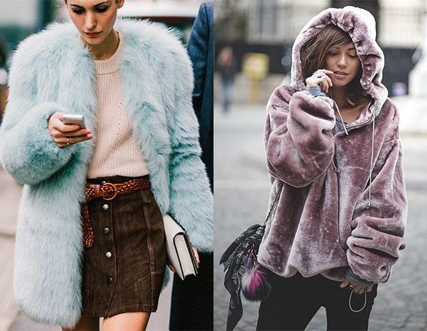 A maior aposta da temporada são as jaquetas 'ursinho' (Foto: Pinterest)