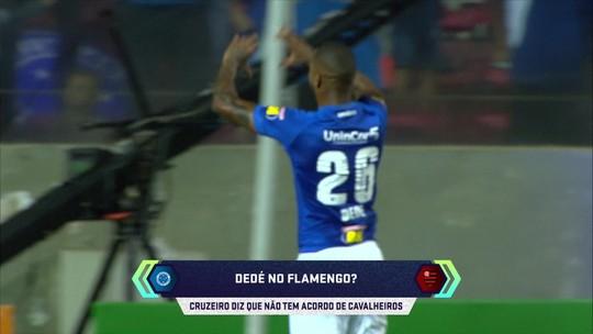 Flamengo avalia nova investida por Dedé; Cruzeiro diz que só vende pela multa rescisória