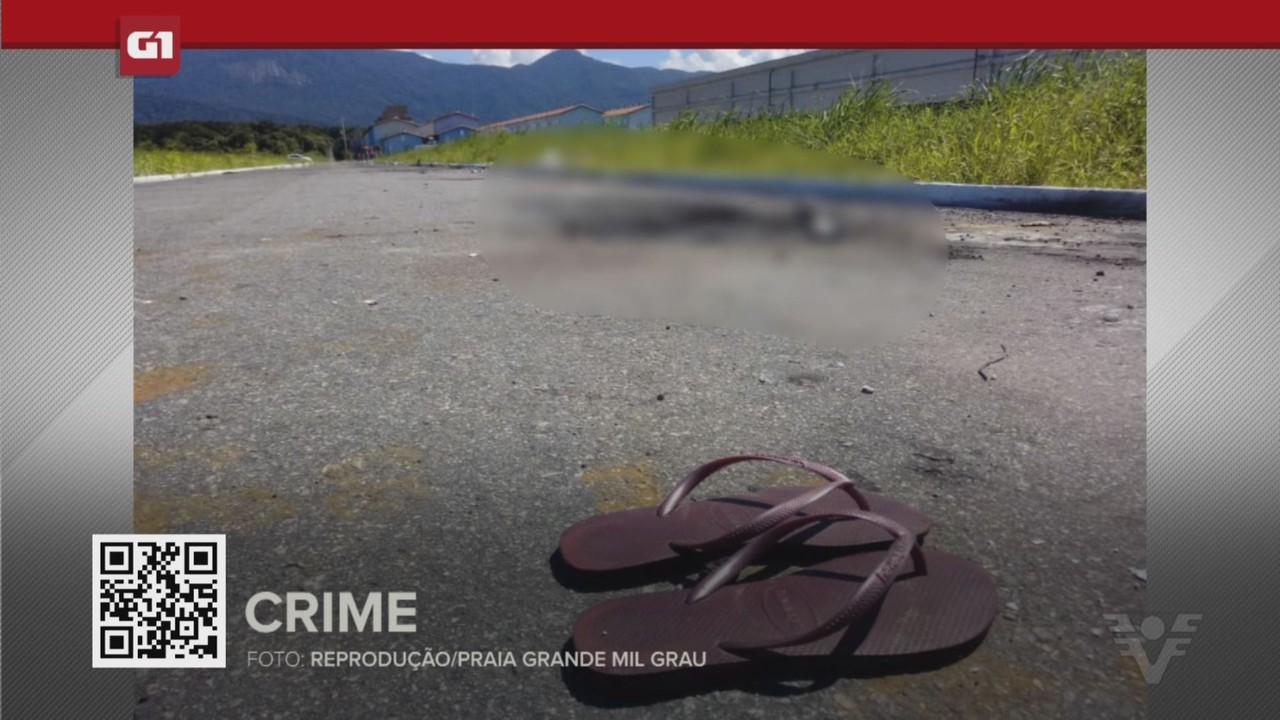 G1 em 1 Minuto - Santos: Casal é preso suspeito de ter assassinado jovem em Praia Grande