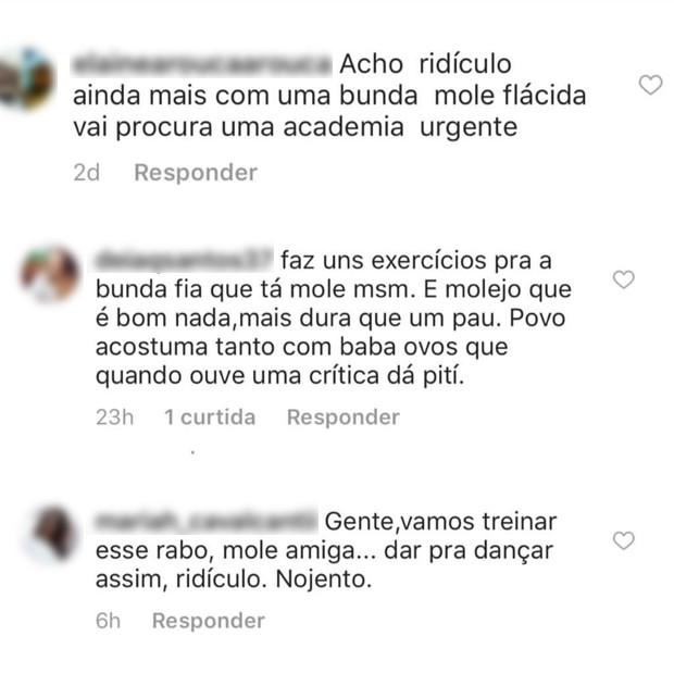 Lexa divulgou comentários maldosos a seu respeito no Instagram (Foto: Reprodução / Instagram)