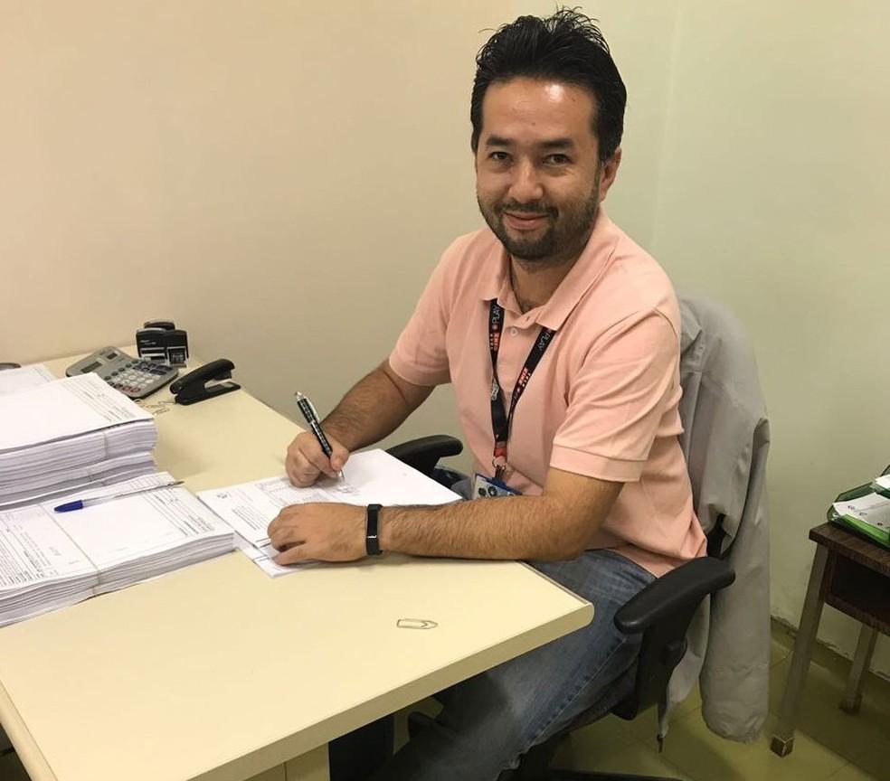 O técnico administrativo Alexandre Oh voltou a consumir após pagar suas dívidas com o FGTS inativo (Foto: Arquivo pessoal)