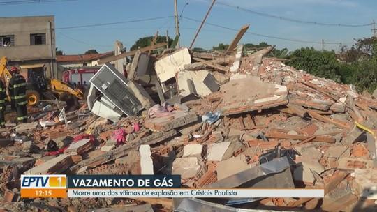 Morre uma das irmãs vítimas de explosão de gás em Cristais Paulista, SP