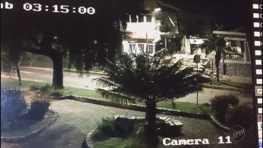 Imóvel de banco é condenado após explosão de cofre em Camanducaia, MG