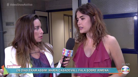 Maria Casadevall sobre o desejo de ser mãe: 'Ainda não me cutuca'