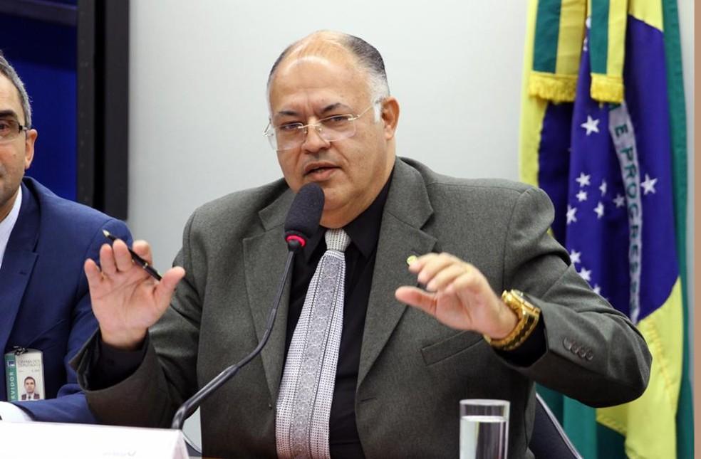 Deputado federal Pastor Eurico (Patriota-PE) — Foto: Vinícius Loures/Câmara dos Deputados/Divulgação