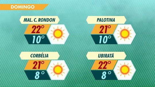 Tem previsão de geada para este domingo, no Paraná