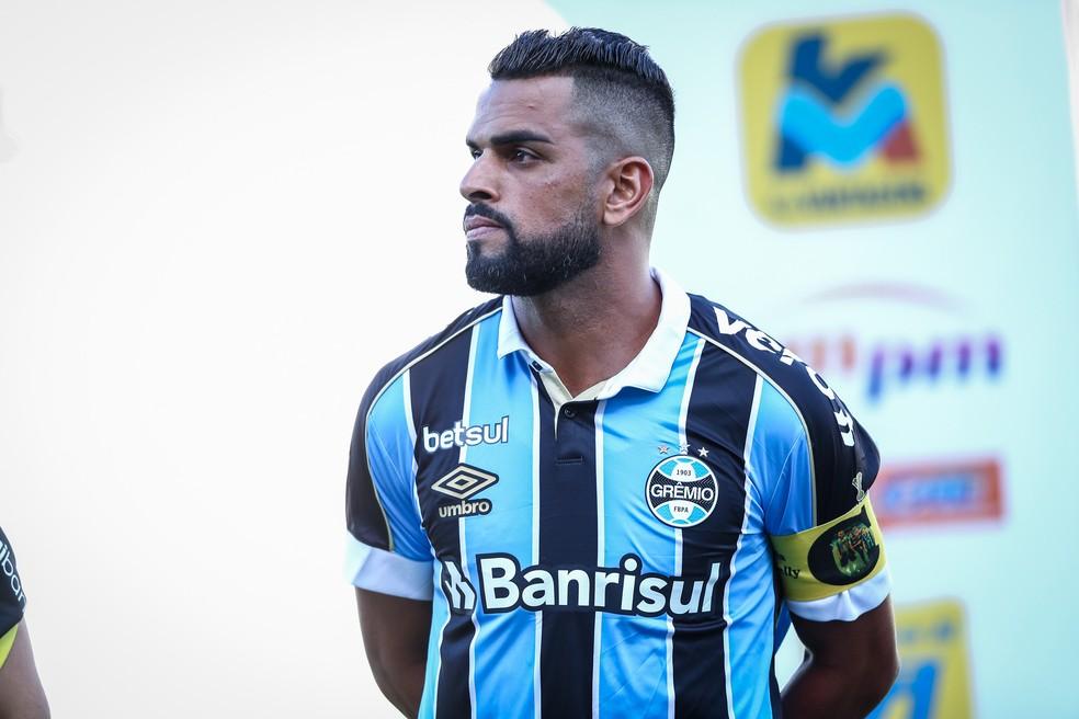Maicon em Caxias x Grêmio — Foto: Lucas Uebel/Grêmio