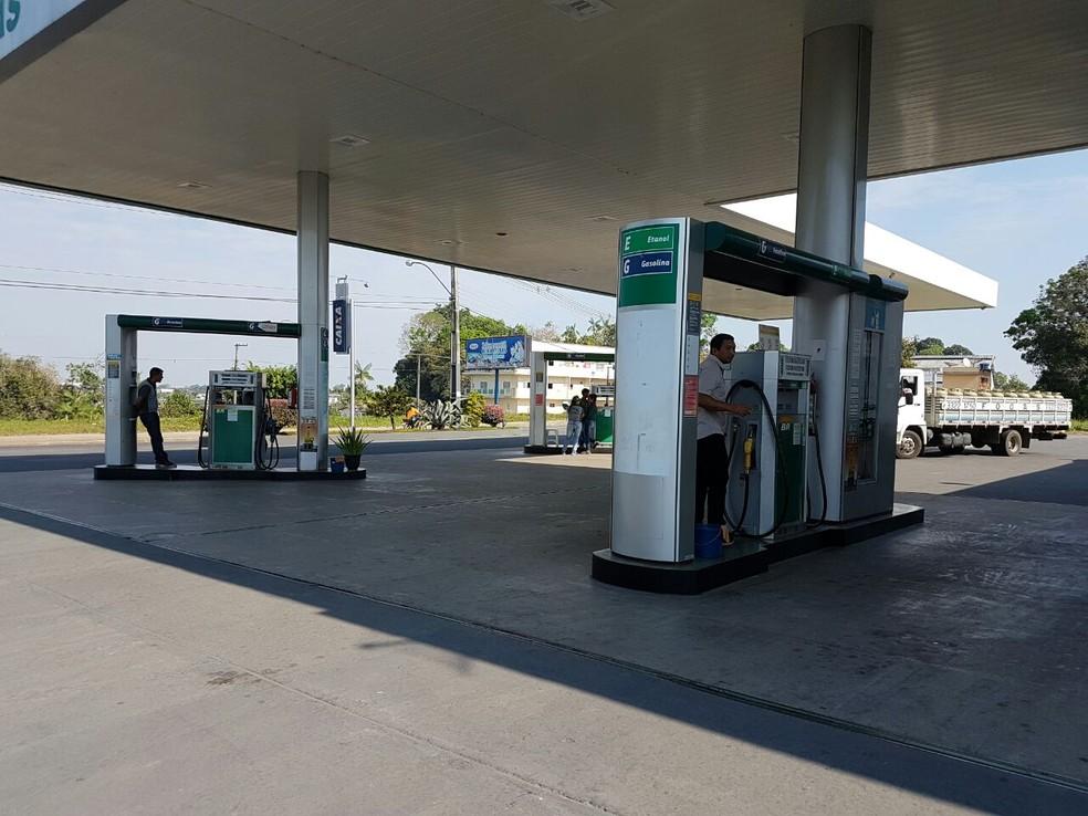 Acre tem combustíveis mais caros do país, diz ANP (Foto: Anny Barbosa/G1)