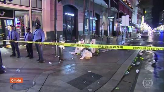 Tiroteio deixa 11 feridos em Nova Orleans, nos EUA