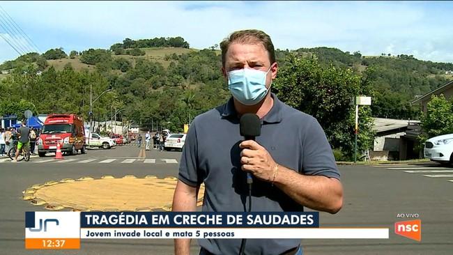 Prefeito de Saudades fala sobre crime em creche que deixou cinco mortos