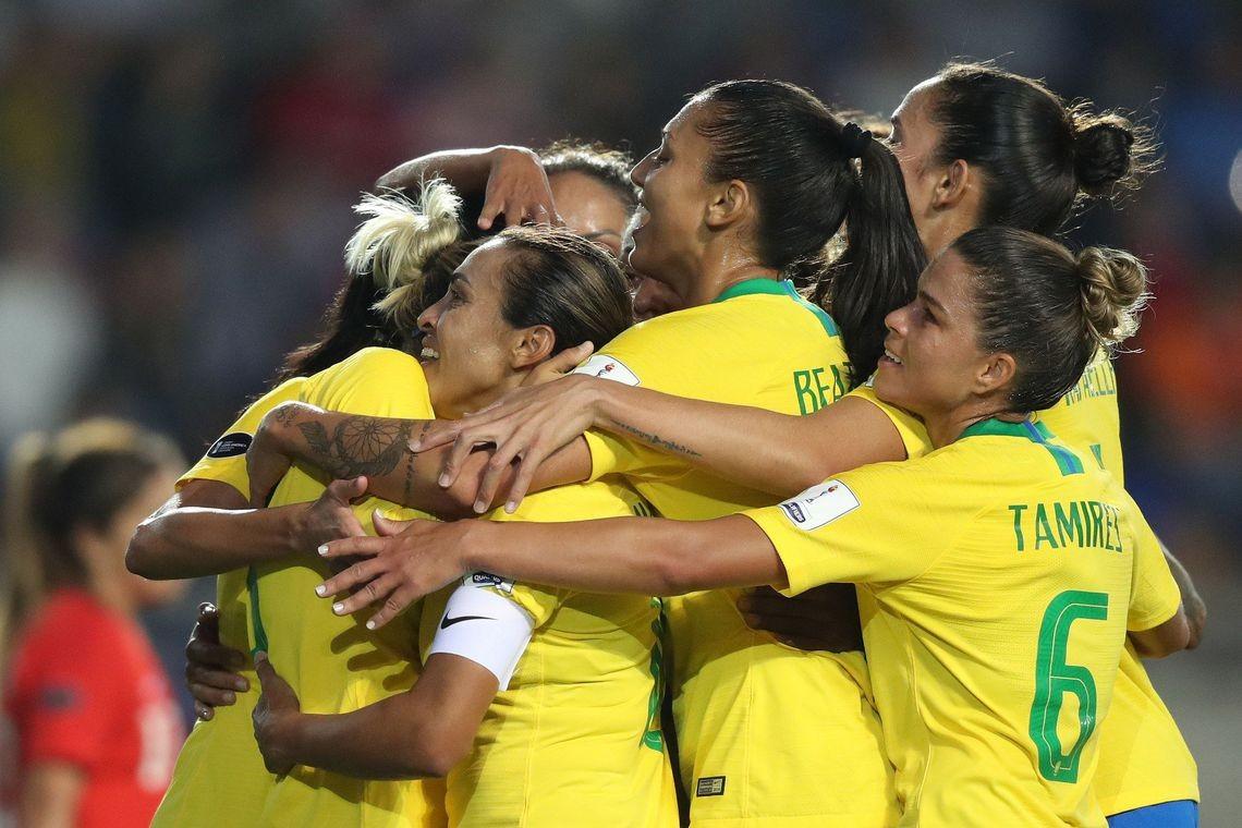 Seleção Feminina de futebol (Foto: Lucas Figueiredo/CBF)