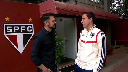 Morador do CT, Pablo fala do começo no São Paulo e da pressão por resultados