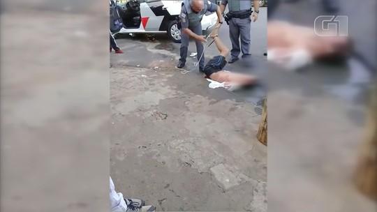 Comando afasta PMs que amarraram suspeito de furto com corda