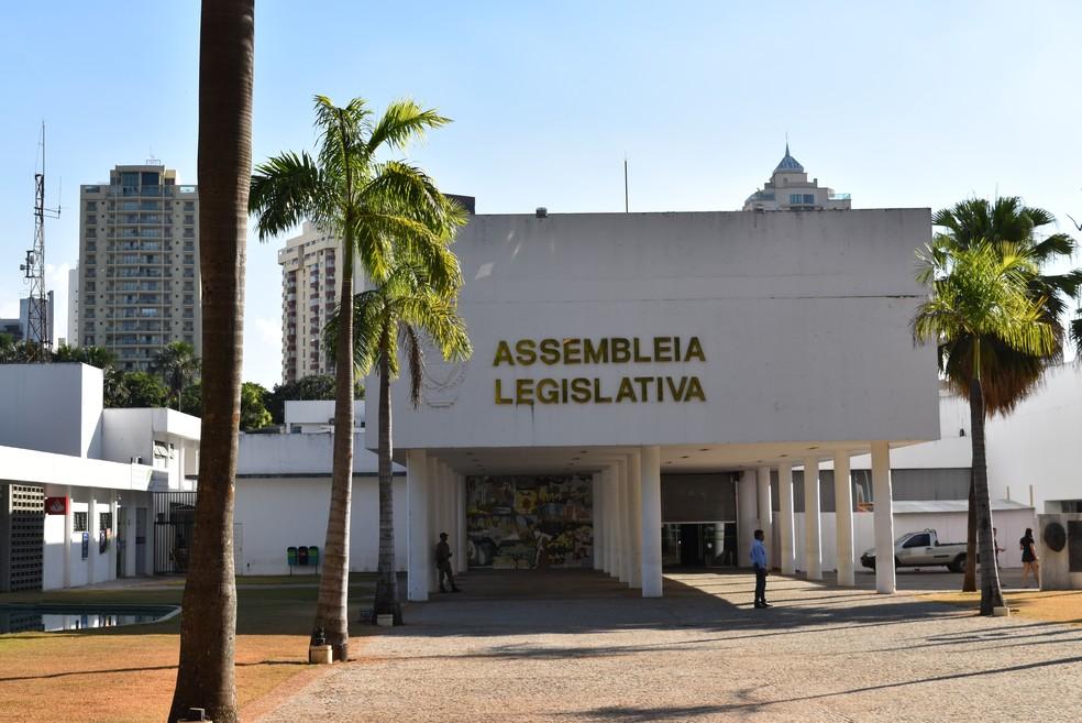 Assembleia Legislativa do Estado de Goiás no Setor Oeste em Goiânia — Foto: Vanessa Chaves/G1