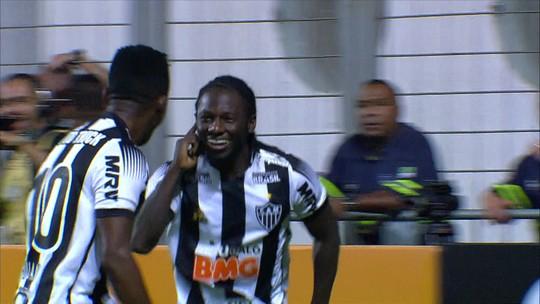 Assista aos gols da vitória emocionante do Galo sobre o Fla