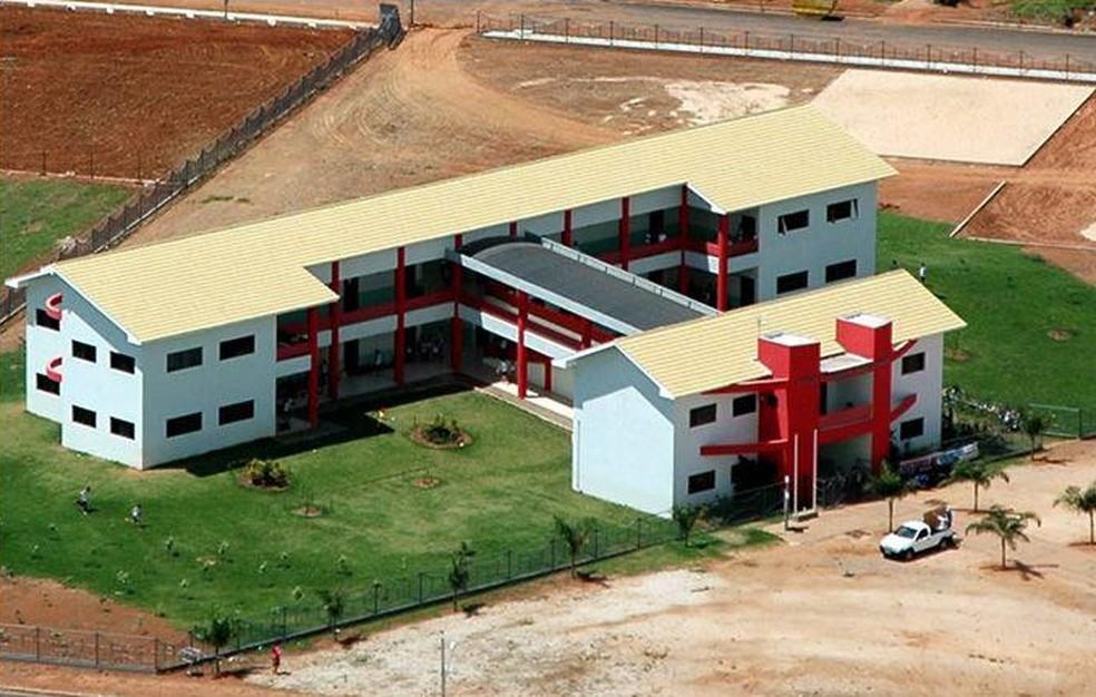 Escola Estadual Ângelo Nadin fica em Lucas do Rio Verde (Foto: Divulgação)