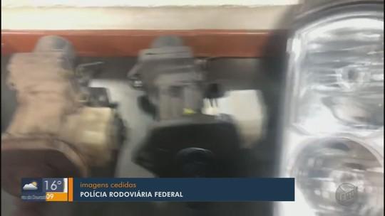 Três são presos com carga roubada avaliada em R$ 14 mil na Fernão Dias em Pouso Alegre, MG