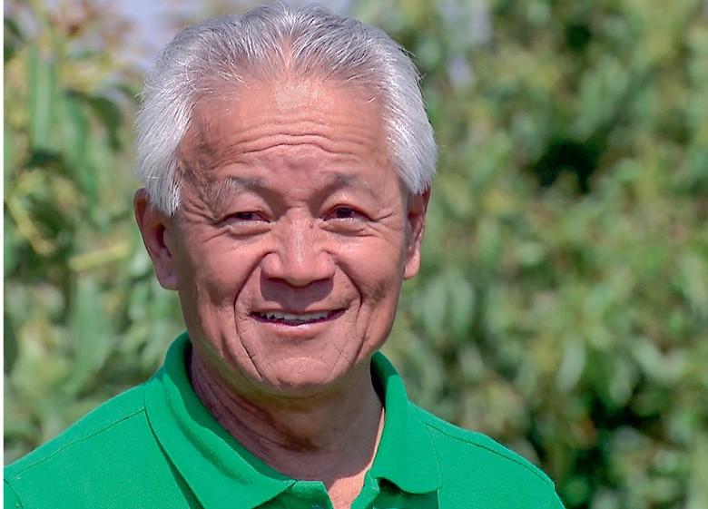 Naohito Tsuge, produtor de São Gotardo (MG) (Foto: Reprodução/Programa Globo Rural)