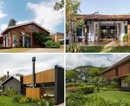 Casas de campo: encante e se inspire com 10 projetos que unem arquitetura e natureza