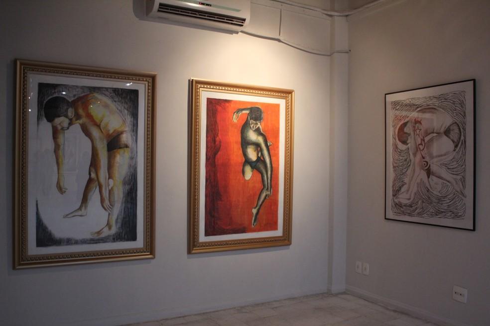 Exposição 'MovimentAR' é a primeira individual da artista Polly D'Ávila, na galeria do Centro de Artes (Foto: Divulgação/Ufam)