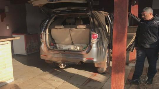 Quadrilha que explodiu cofres de bancos em Guaíra usou chácara em Bebedouro como ponto de apoio, diz polícia