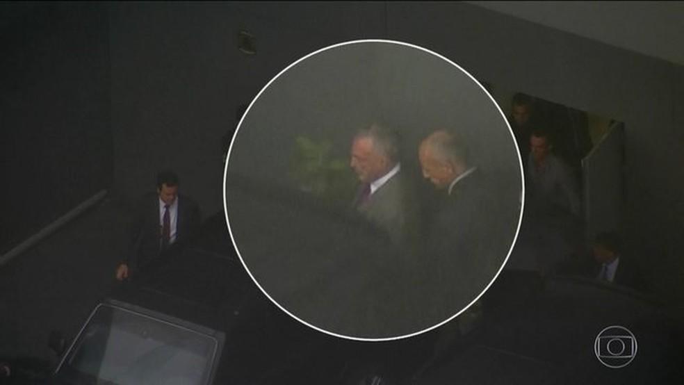 Temer passa o sábado preso no Rio sem visitas; PF não autorizou — Foto: Reprodução/JN