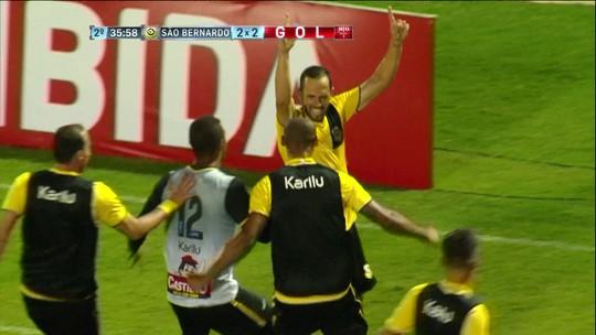 Mais eficiente, São Bernardo vence Audax e entra na briga no Grupo A