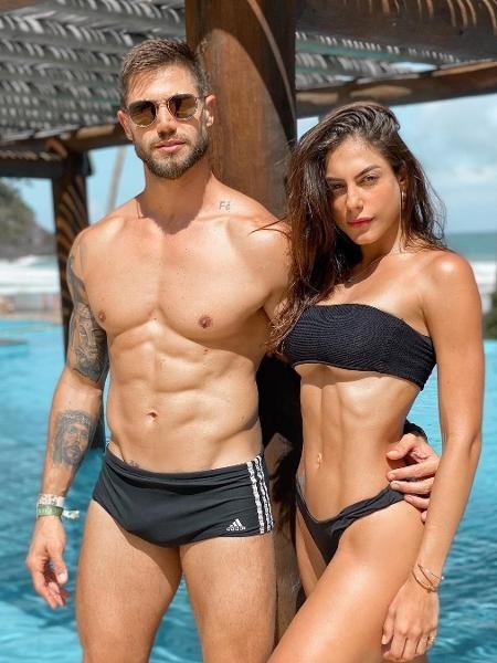 Mari e Jonas (Foto: Reprodução)
