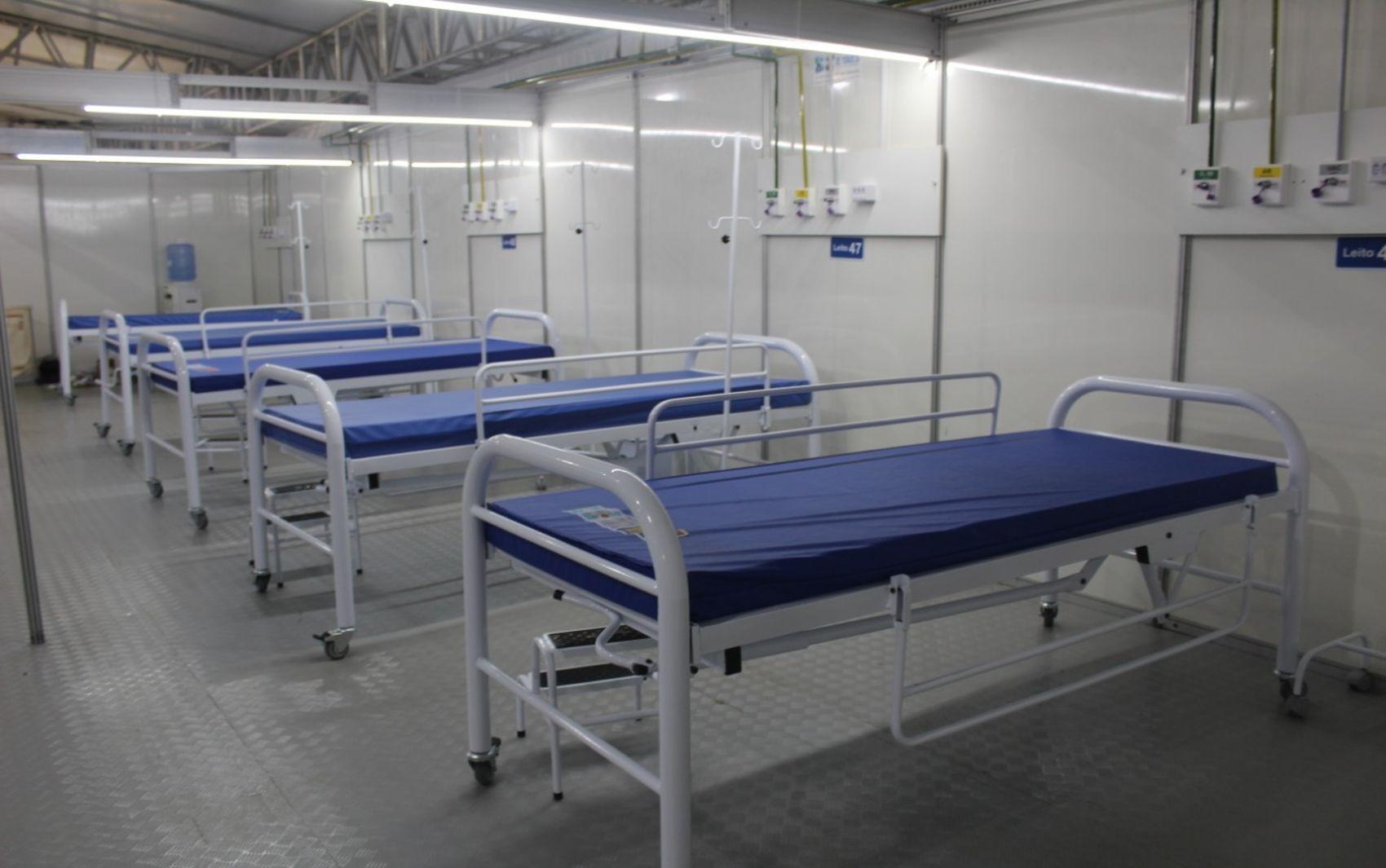 Hospital de Campanha de Nossa Senhora do Socorro para pacientes com a Covid-19 começa a funcionar nesta sexta-feira