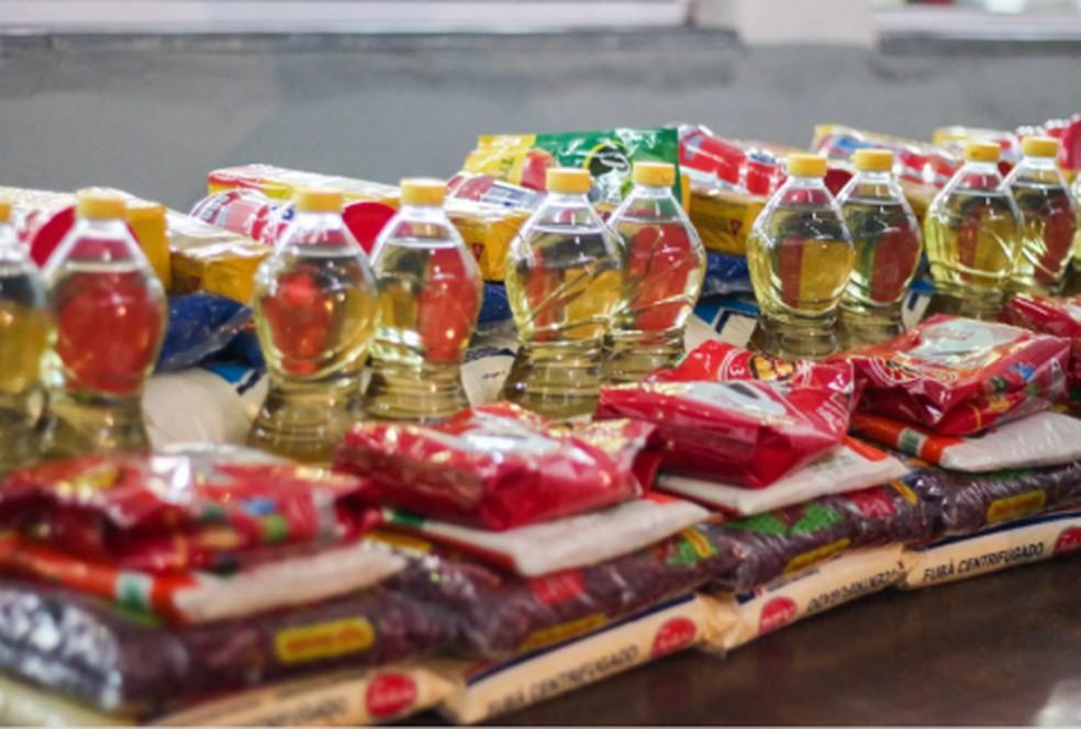 Itens da cesta básica, que acumulam alta em todo o país — Foto: Acervo Aleam
