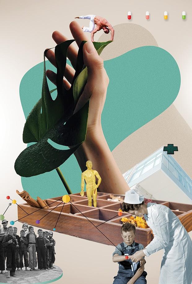 Viver bem: Crie sua cura (Foto: Ilustração Mauricio Planel)