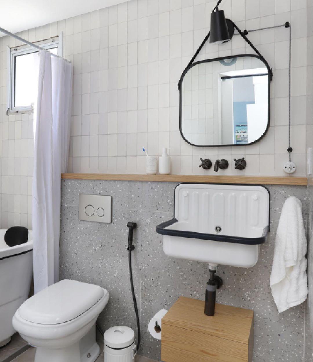 Como decorar banheiro: ideias e dicas para não errar (Foto: Mariana Orsi)