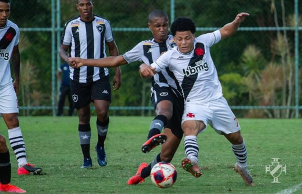 Emerson Urso veio do São Caetano e é uma das caras novas do time sub-20 — Foto: Vitor Brügger / Vasco