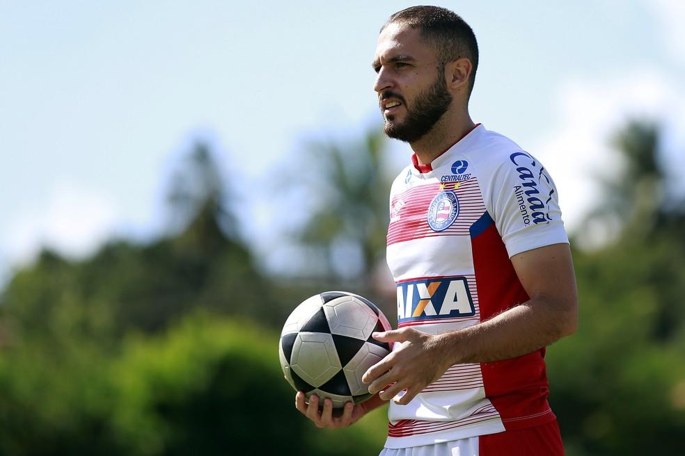 Régis perdeu o posto de titular no Bahia (Foto: Felipe Oliveira/Divulgação/EC Bahia)