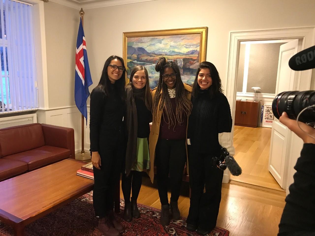 #OFuturoÉFeminino, nova série do GNT, vai mostrar a realidade na Islândia e Paquistão, traçando um paralelo com a realidade brasileira (Foto: Divulgação)