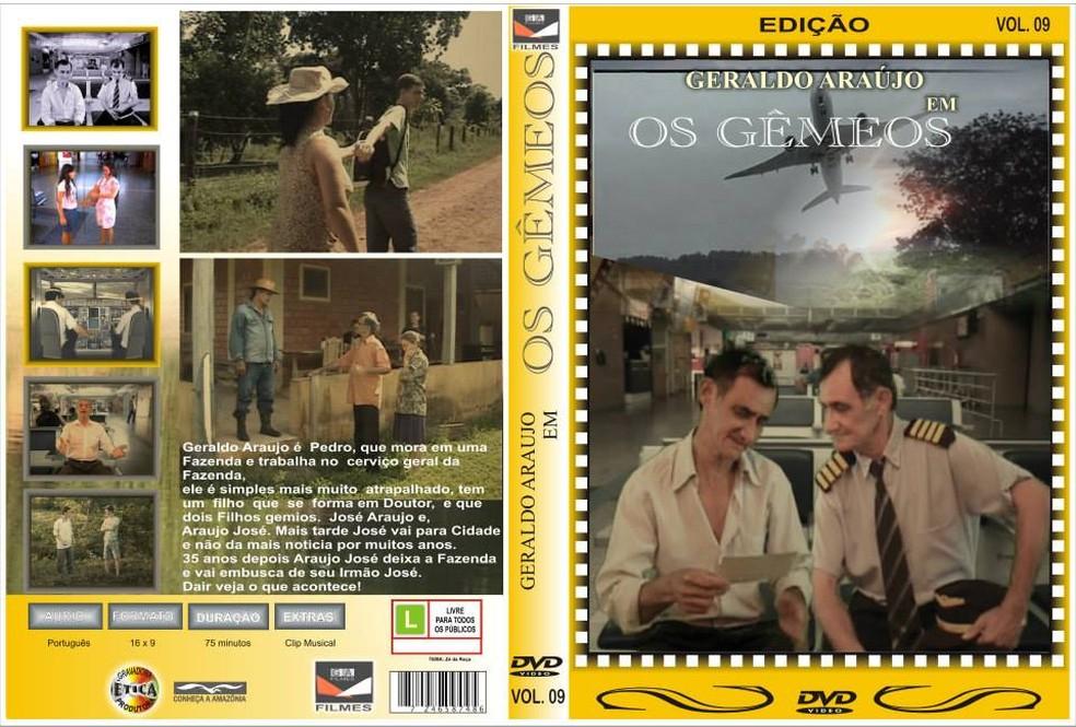 Na busca de realizar o  sonho Geraldo já fez filmes que envolvia o amor por aviões  (Foto: Divulgação/Facebook)