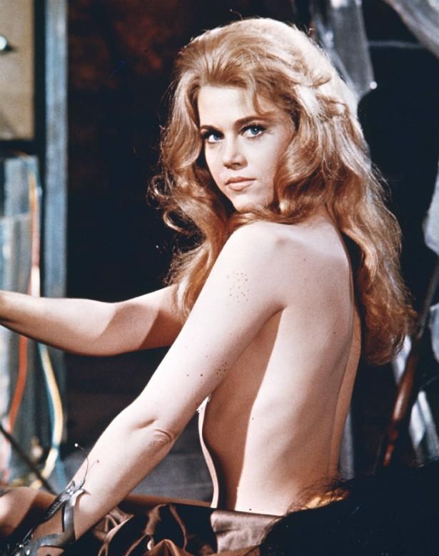 Jane Fonda em 'Barbarella' (1968). (Foto: Divulgação)