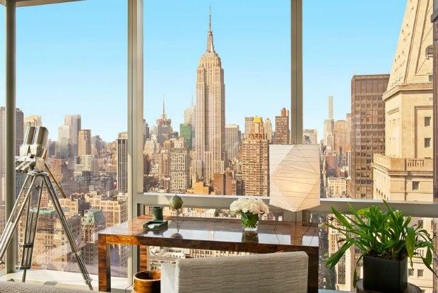 Apartamento de Gisele Bündchen em Nova York (Foto: Divulgação / Streeteasy)