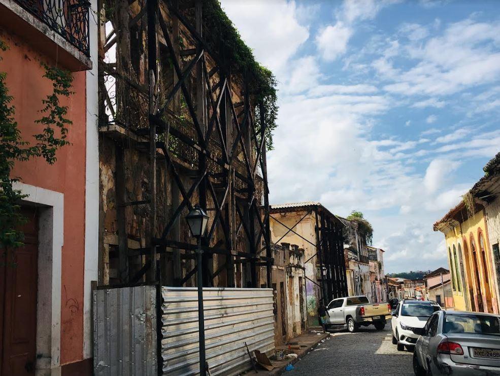 14 casarões do Centro Histórico de São Luís apresentam alto risco de desabamento