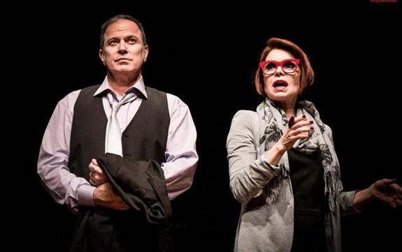 Aloísio de Abreu e Françoise Forton ensaiam 'Minha vida daria um bolero' (Foto: Moskow)
