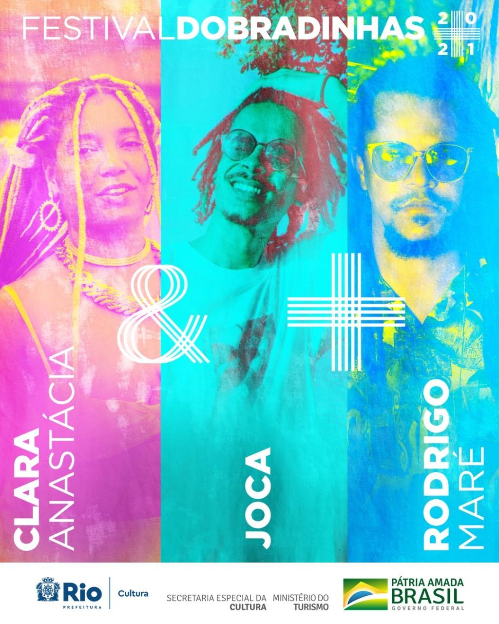 Dobradinhas: Clara Anastácia e Joca + Rodrigo Maré