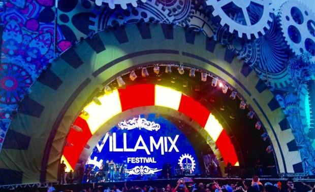 Palco do VillaMix Festival Rio 2016 (Foto: Rafael Godinho/Ed.Globo)