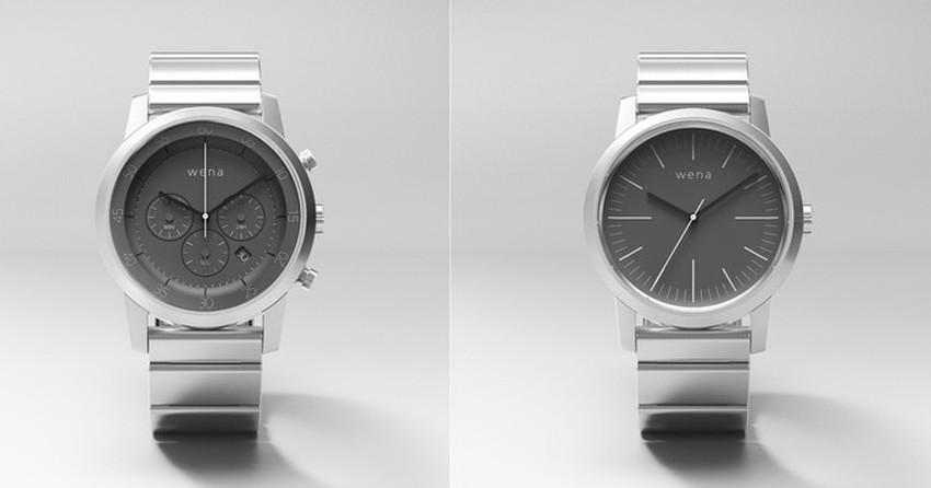 fcaa5ec4977 Wena Wrist é o primeiro smartwatch financiado coletivamente da Sony ...