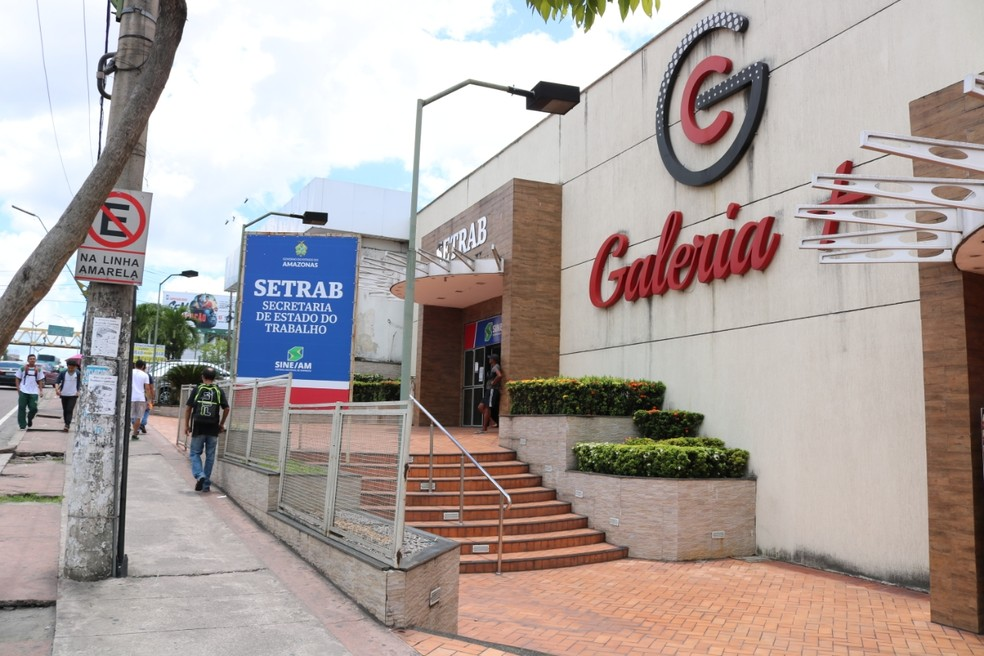 Sede da Setrab-AM, em Manaus — Foto: Divulgação/Setrab
