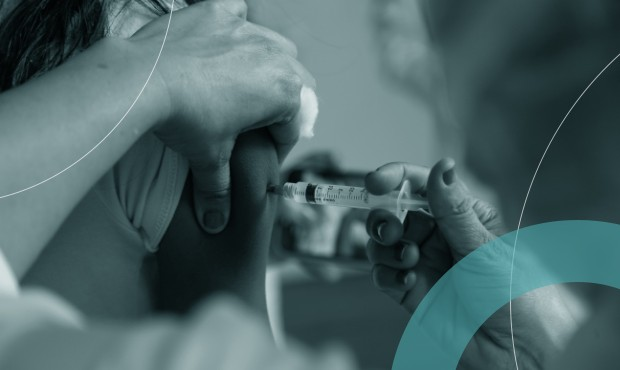 Vacinação contra a Covid-19 no Palácio do Catete, na Zona Sul do Rio de Janeiro